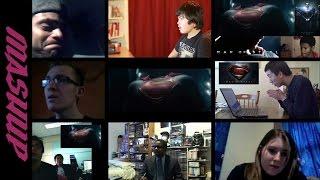 Man of Steel | Trailer #2 - Reactions Mashup