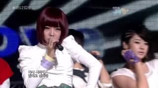 090918 T-ARA(티아라) & Supernova(초신성) - TTL (Time To Love) @ Music Bank Comeback