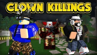 THE CLOWNS ARE AFTER US! (ROBLOX)