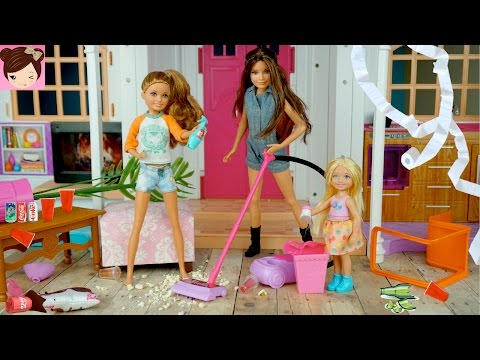 Xxx Mp4 Barbie Dream House Party Fail Barbie Sisters Make A Huge Mess Fun Doll Story For Kids 3gp Sex