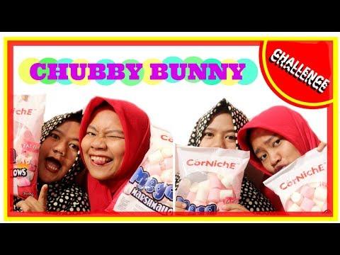CHUBBY BUNNY CHALLENGE!!!!  (INDONESIA)