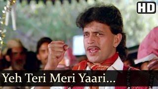 Teri Meri Yaari - Mithun Chakraborty - Daata - Suresh Wadkar - Mohammed Aziz - Best Hindi Songs