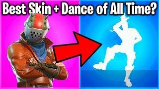 TOP 10 SKIN + DANCE COMBOS IN FORTNITE!