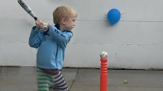 Balloon Popping Trick Shots   That