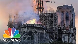 Watch live: Paris' Notre Dame Cathedral engulfed in flames  | NBC News