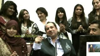 Live private singing of Rahat Fateh Ali Khan