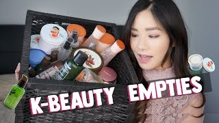 💖BEST KOREAN SKINCARE/MAKEUP I used for YEARS! 💖 Empties 2019