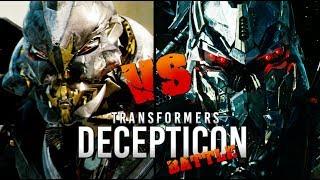 Transformers: Starscream vs Soundwave (Decepticon Battle)