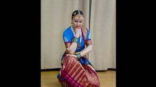 Индийский танец - Bharatanatyam  - Indian dance in Moscow - Indendu (Инденду)