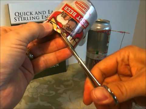 How to Build the Quick and Easy Stirling Engine Pressure Chamber Bottom