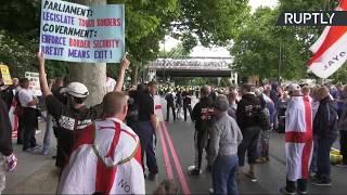 L'extrême droite et les antifas s'opposent dans des manifestations à Londres (Direct du 24.06)