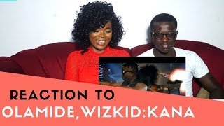Olamide,Wizkid:KANA (REACTION VIDEO)