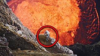 Top 15 Scary Videos Taken Near Volcanoes