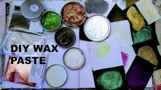 DIY Wax Paste