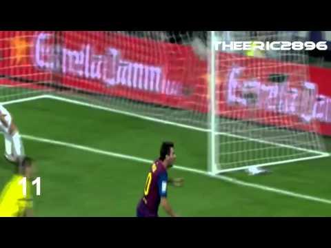 17 goles de Lionel Messi al Real Madrid