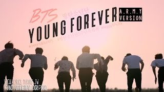 [ #3YearsWithBTS ] Young Forever A.R.M.Y Version (English Cover)