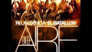 R-1 La Esencia ft. El Batallon - En El Aire Remix   Audio Oficial