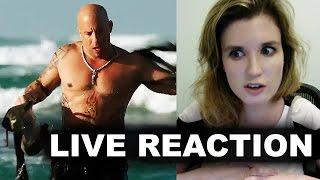 XXX Return of Xander Cage Teaser Trailer Reaction