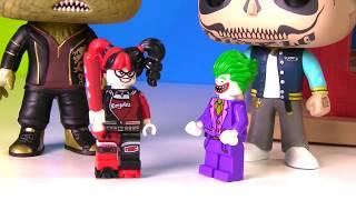 Batman Lego Movie Toy Surprise Boxes Joker Harley Quinn Robin Batgirl - Stop Motion!