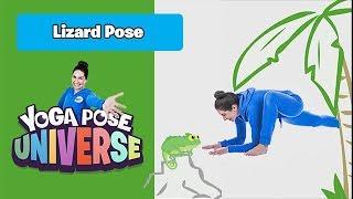 Lizard Pose | Yoga Pose Universe!