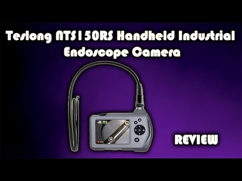 Teslong NTS150RS Handheld Industrial Endoscope Camera Review