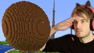 I Built A GIANT MEATBALL In Minecraft (emotional)