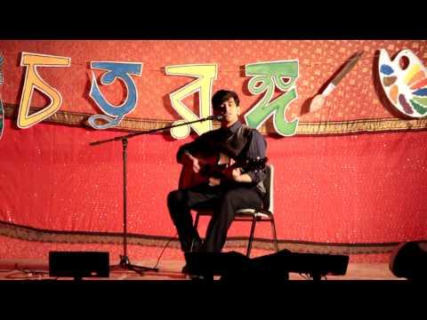 Aurup Moshiuddin Performance@BSA Choturongo