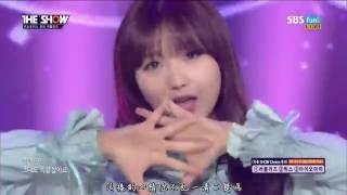 [中字]160510 Lovelyz - Destiny @ The Show