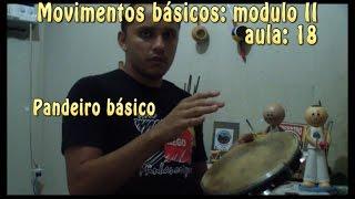 Pandeiro Básico - Angola, São bento grande e os 7 da regional (Capoeira Básica Modulo 2) #18