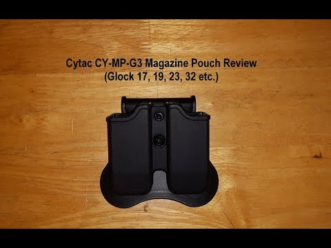 Xxx Mp4 Cytac CY MP G3 Magazine Pouch Review Glock 17 19 23 32 Etc Airsoft G Mags As Well 3gp Sex