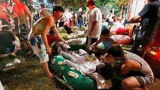 Mengerikan !!! 500 Gay terbakar hidup2 saat pesta pernikahan sejenis di taiwan