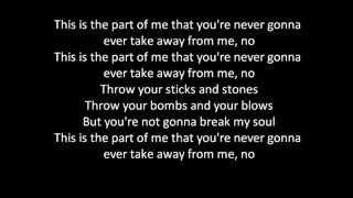 Katy Perry - Part Of Me (lyrics on screen)