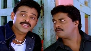 Subash Chandra Bose Movie || Back To Back Comedy Scenes || Venkatesh, Shriya, Genelia