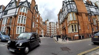 London Walk Around. Belgrave Square, Sloane Street and Knightsbridge