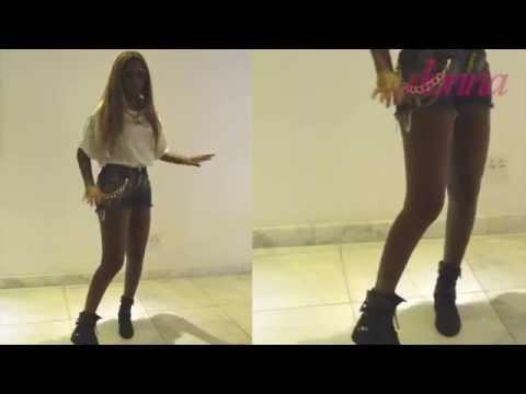 Ludmilla ensina a dançar o passinho