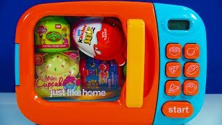 Microwave Surprise Toys Kinder Joy Egg My Little Pony Mini Cupcake Surprise Cabbage Patch Kids