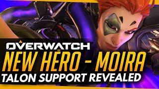 Overwatch   NEW HERO MOIRA - TALON SUPPORT ABILTIES -- OLD