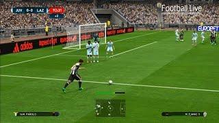 PES 2017   FINAL   Juventus vs Lazio   Free Kick Goal & Full Match   Gameplay PC