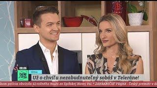TELERÁNO - Adela A Viktor Rok Po Zásnubách V Priamom Prenose