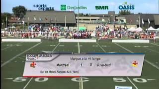 Jeux du Québec 2014 - Finale de soccer masculin - 9 août