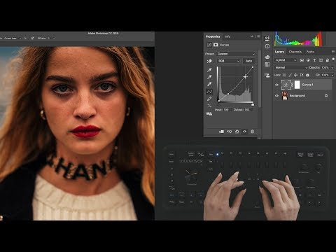 Xxx Mp4 Loupedeck With Angelina Ilmast Editing In Adobe Photoshop CC 3gp Sex