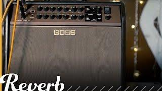 BOSS Acoustic Singer Pro & Live Amplifiers | NAMM 2017