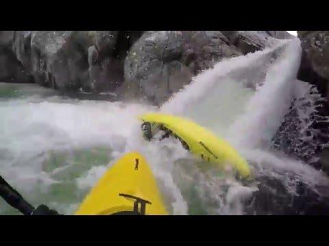 Fium'Orbo Whitewater Kayaking Corsica 2016