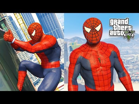 GTA 5 Mods ULTIMATE SPIDERMAN MOD GTA 5 Spiderman Mod Gameplay GTA 5 Mods Gameplay