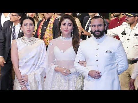 Xxx Mp4 Kareena Kapoor Khan Royal Look With Saif Ali Khan And Karishma Kapoor At Isha Ambani Wedding Party 3gp Sex