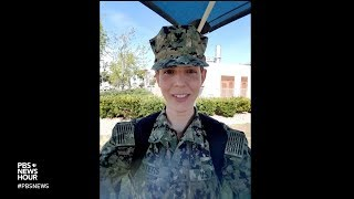 What serving in the military means for this transgender sailor