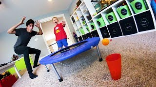 5 YEAR OLD MAKES EPIC TRICK SHOTS!