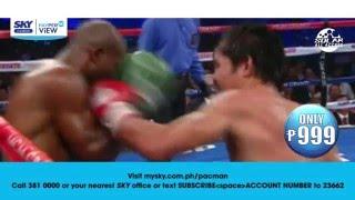 Pacquiao vs Bradley and Donaire vs Bedak on Pay-per-View
