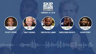 UNDISPUTED Audio Podcast (02.25.19) with Skip Bayless, Shannon Sharpe & Jenny Taft | UNDISPUTED
