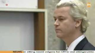 Trial against Wilders and freedom 2010 - part 1